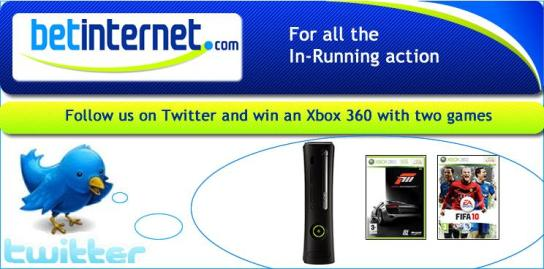 Win an Xbox 360 with Betinternet.com